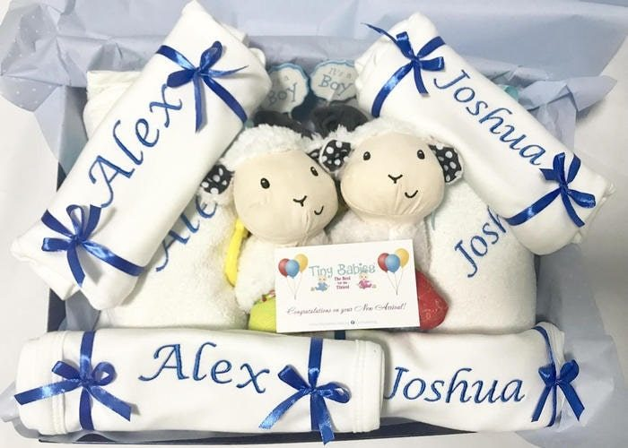 My Double Joy Boys Personalised hamper