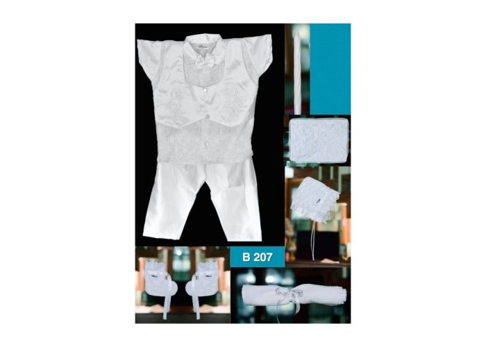Baby Boy Baptism clothing set