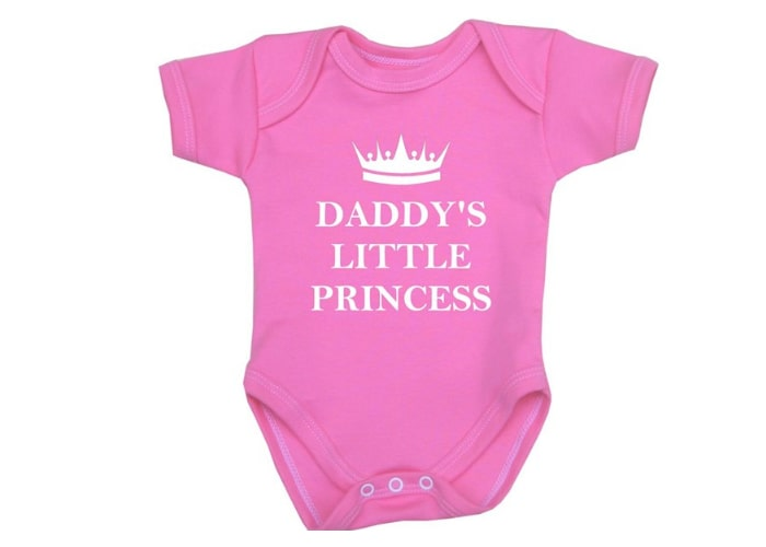 Daddys Little Princess bodysuit