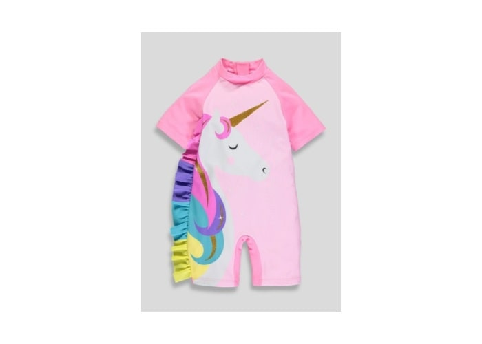 Kids Unicorn Surf Suit