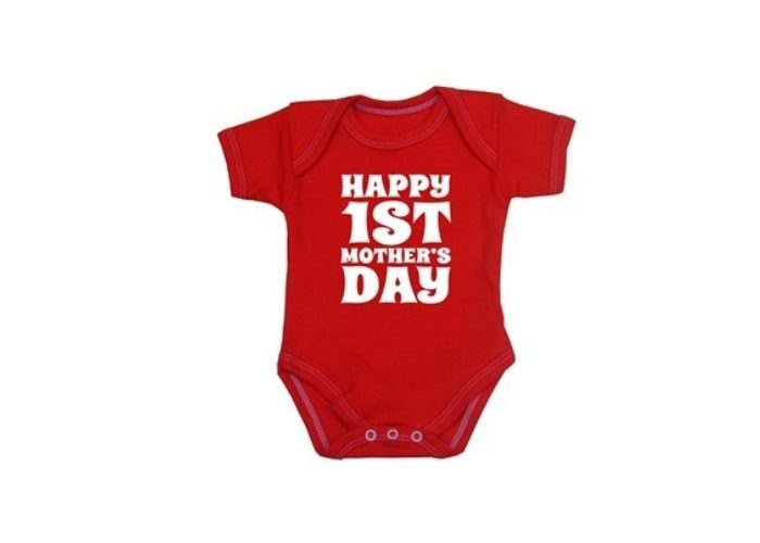 My First Mother Day Bodysuit