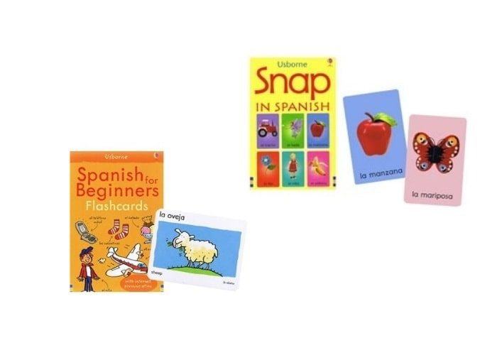 Spanish Language Flash Cards