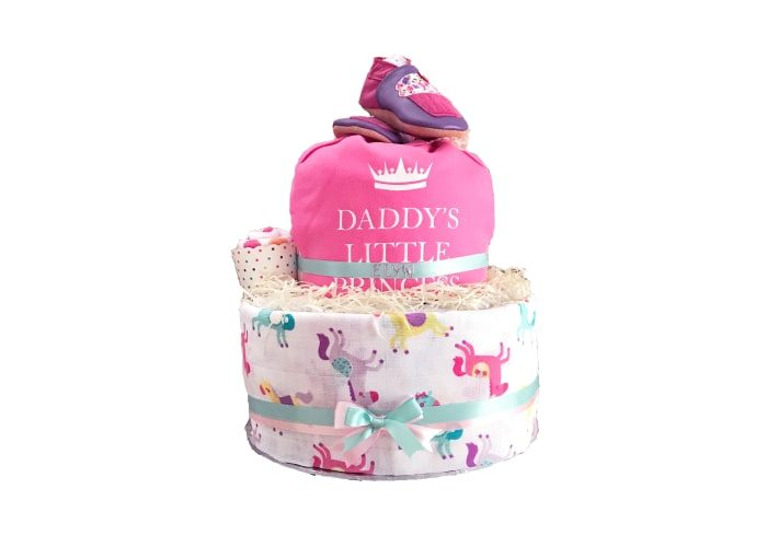 daddy little princess diaper cake