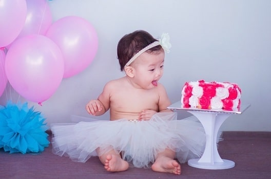 Baby First Birthday Smash Cake Photography Studios