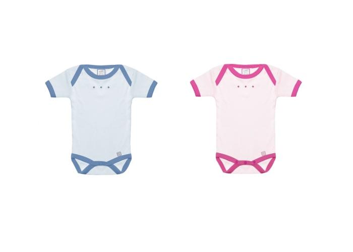 personalised baby bodysuits