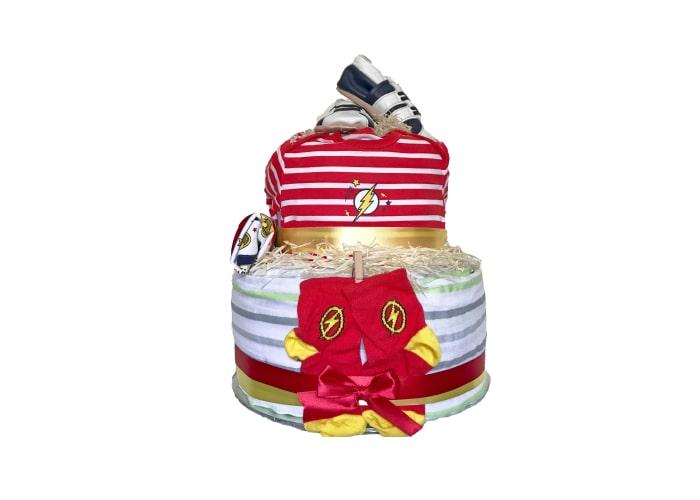 Baby Flash Diaper Cake