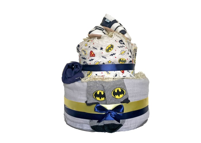 batman diaper cake