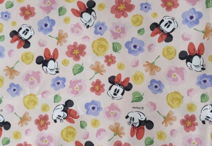 Minnie Mouse Pillow Fabric