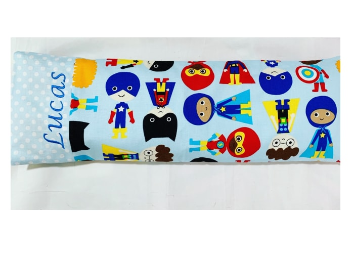 superhero baby pillow