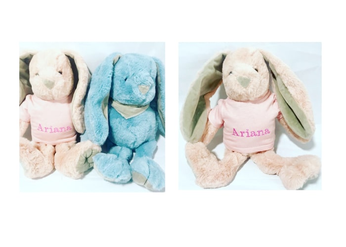 Personalized Bunny Plush Toy