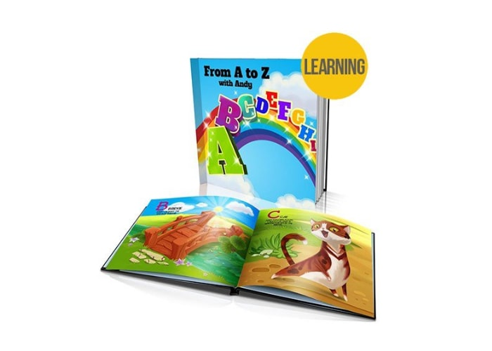 From A to Z Personalised Kids Book