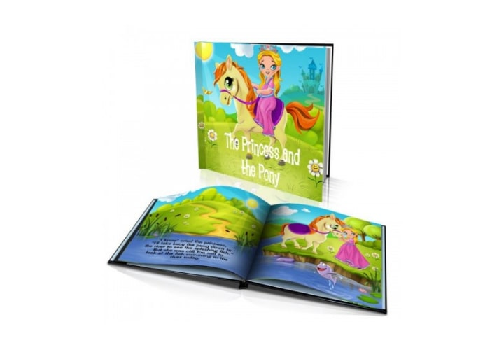 The Princess and the Pony Personalised Kids Story Book