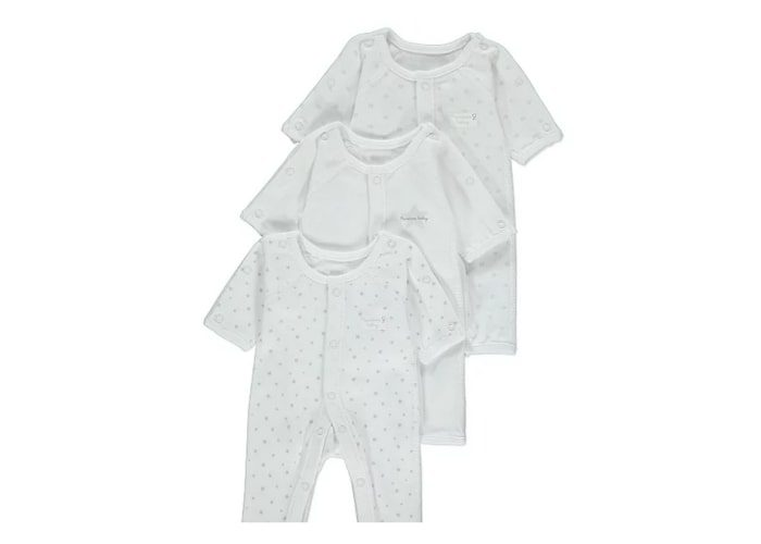 premature unisex baby sleepsuits