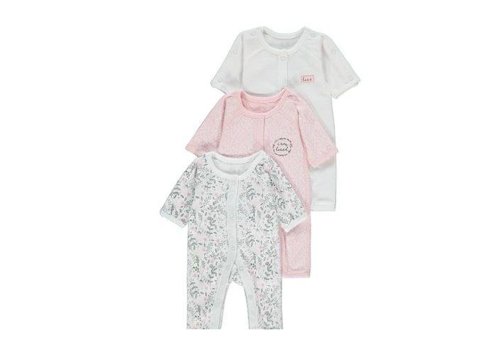 preemie baby girl sleepsuits