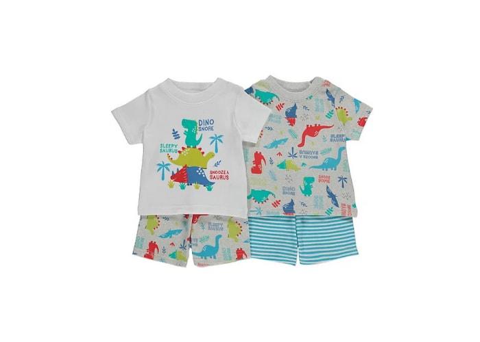 Dino baby boy pyjama set