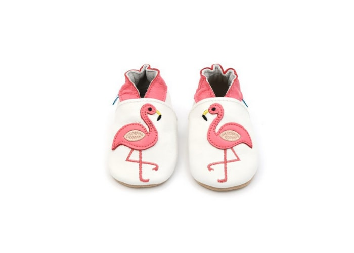 Flamingo prewalker shoes