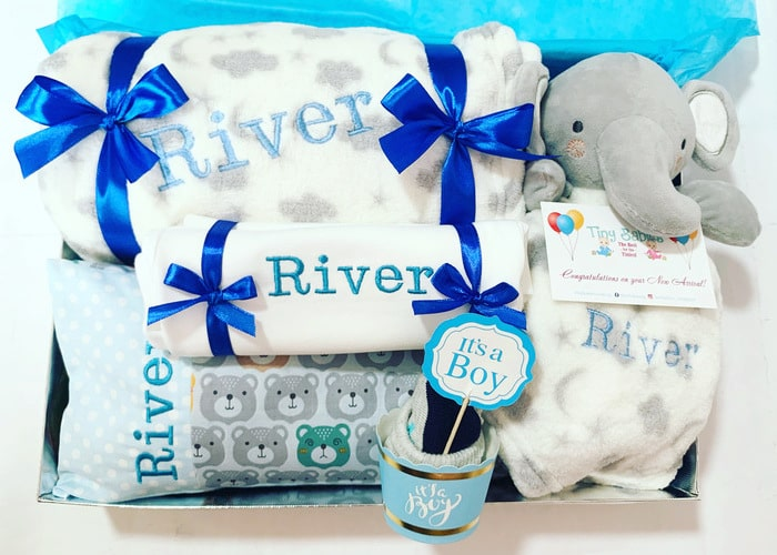 Love You My Baby Personalised Hamper