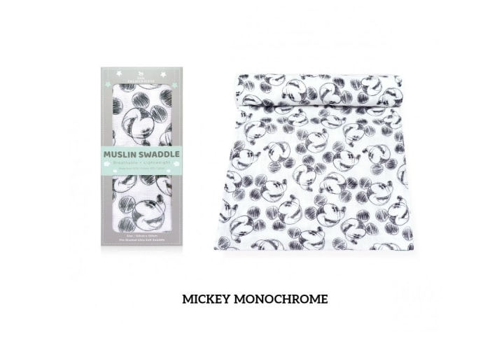 Mickey Mouse Muslin Swaddle