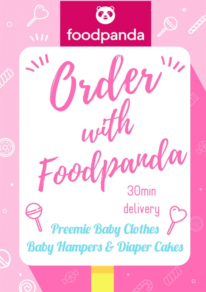 iny Babies and Foodpanda collaboration