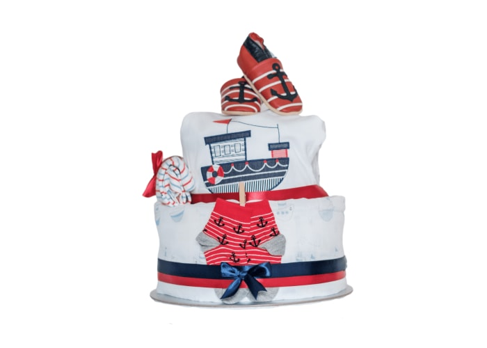 Little Sailor Diaper Cake