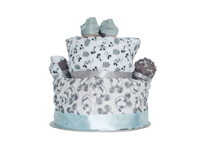 Mickey Mouse Diaper Cake back