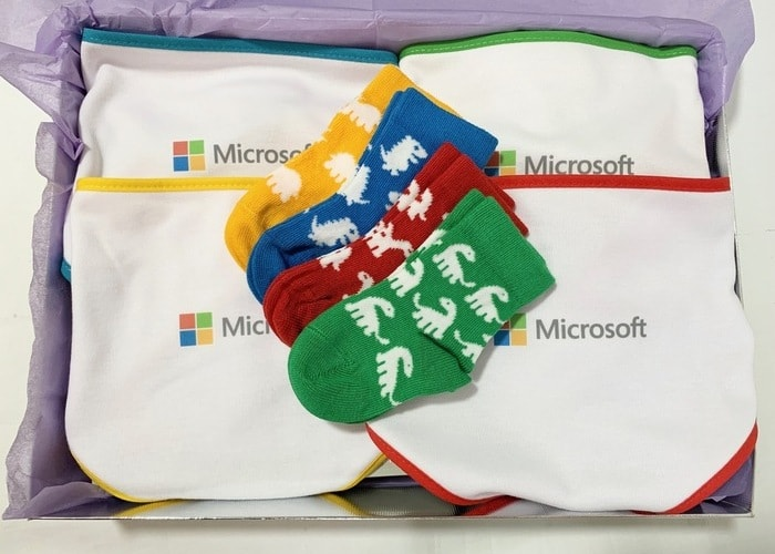 Microsoft Baby Hamper