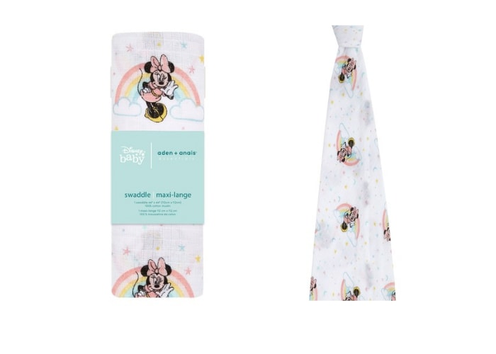 Minnie Mouse muslin swaddle blanket