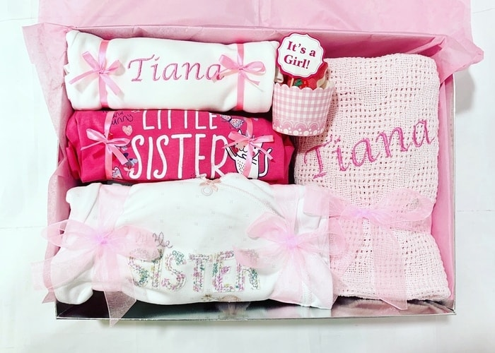 My Little Sister Personalised Gift Set