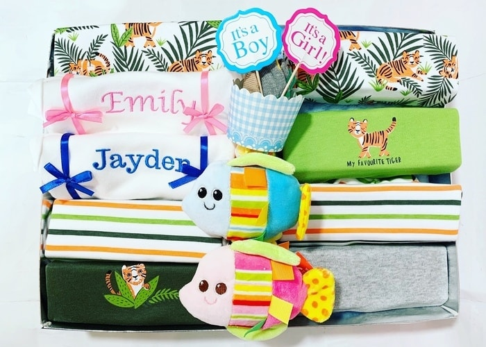 Little Tiger Unisex Personalised Hamper
