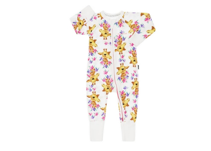 BONDS Giraffe Baby Girl Sleepsuit