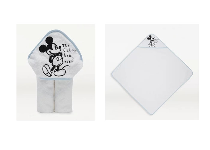 Mickey Mouse Bath Hooded Towel