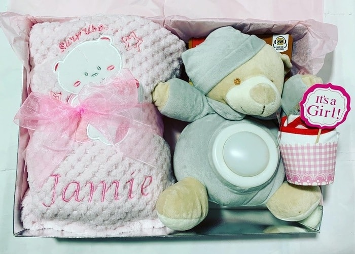 My First Bear Personalised Gift Hamper