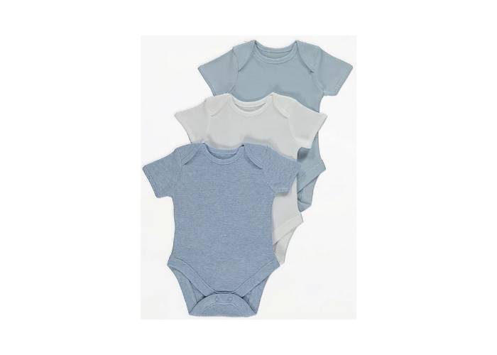 3pack Baby Boy Bodysuts 6lbs