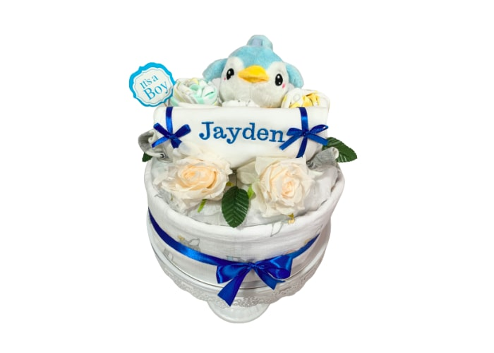 Just Hatched Unisex Diaper Cake
