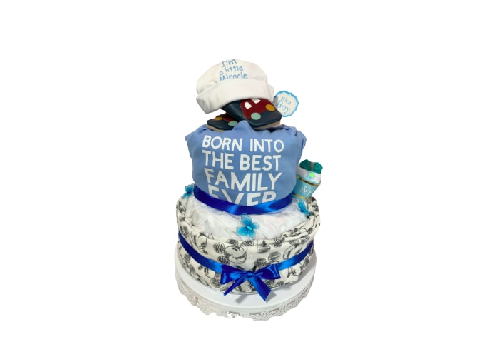 Little miracle Boy Diaper Cake