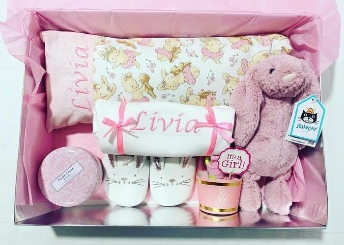 My First Jellycat Bunny Personalised Gift Set