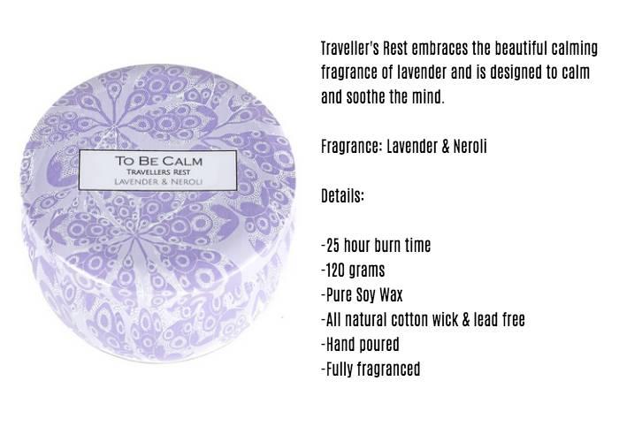 To Be Calm Lavender &Neroli Mini Candle