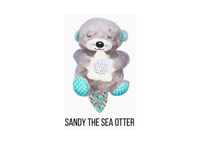 Sandy the Sea Otter Musical Nightlight with projector