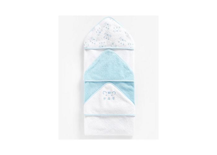Baby Boy Hooded Bath Towel