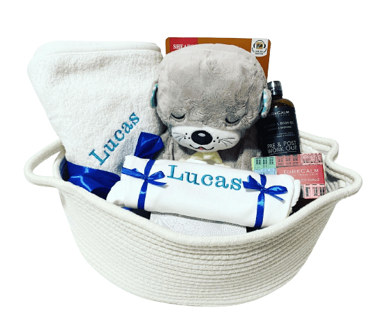 New parents and baby gift bundle