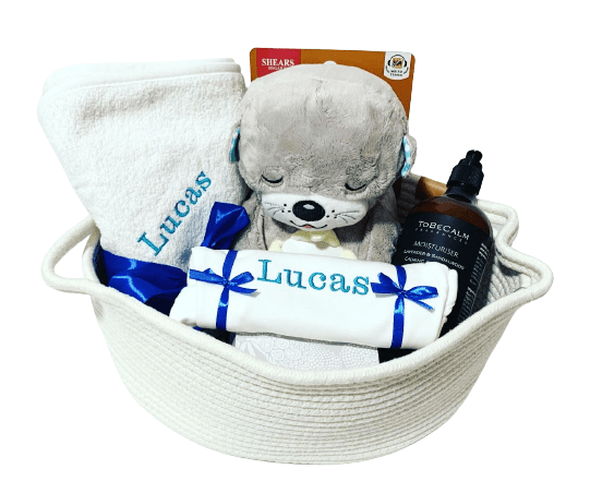 New Parents & Newborn Baby Personalised Gift Bundle